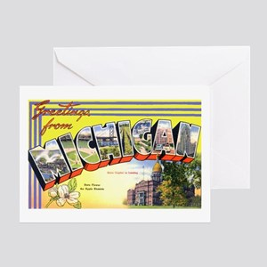 Michigan greeting cards cafepress michigan greetings greeting card m4hsunfo Images