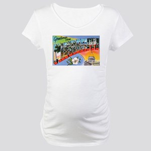 Mississippi Greetings Maternity T-Shirt