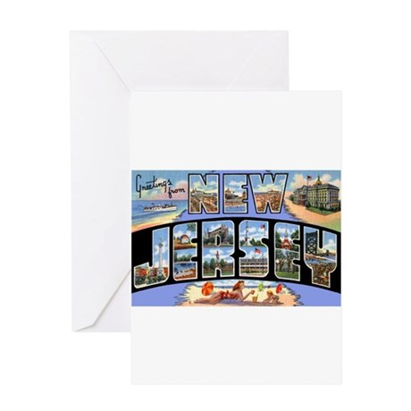 New Jersey Greetings Greeting Card