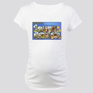 South Carolina Greetings Maternity T-Shirt