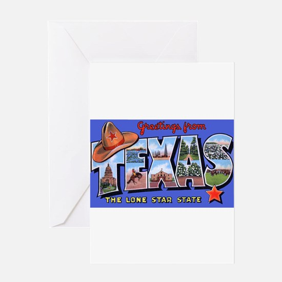 Texas Greetings Greeting Card