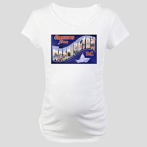Washington, D.C. Greetings Maternity T-Shirt