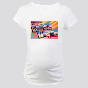 Beach Haven New Jersey Maternity T-Shirt