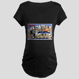 Catalina Island Maternity Dark T-Shirt