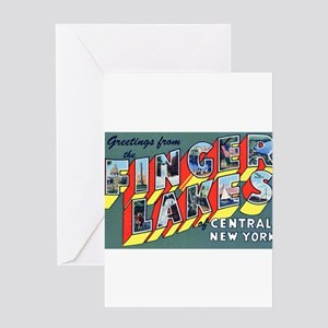 Finger Lakes New York Greeting Card