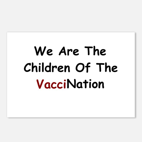 Children Of VacciNation Postcards (Package of 8)