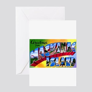Mackinac Island Michigan Greeting Card