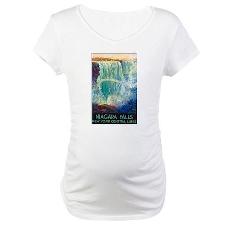 Niagara Falls Maternity T-Shirt