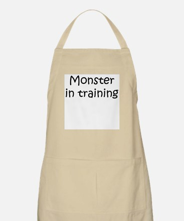 Monster in training BBQ Apron