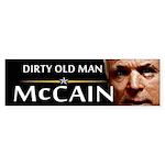 Dirty Old Man Bumper Sticker