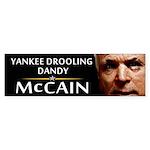 Yankee Drooling Dandy Bumper Sticker
