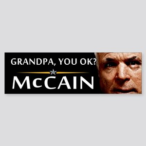 Grandpa, You OK? Bumper Sticker