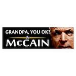 Grandpa, You OK? Bumper Sticker