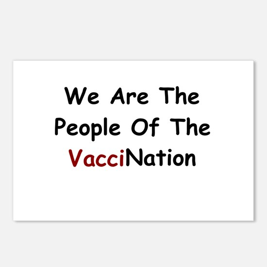 People Of VacciNation Postcards (Package of 8)