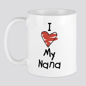 I Love My Nanna Mug