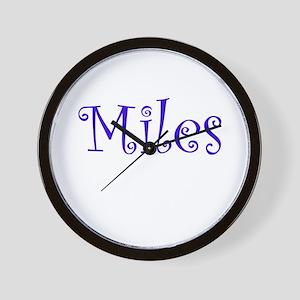 MILES Wall Clock