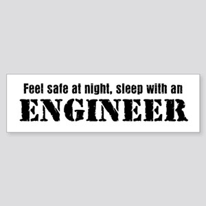 Feel Safe with an Engineer Bumper Sticker