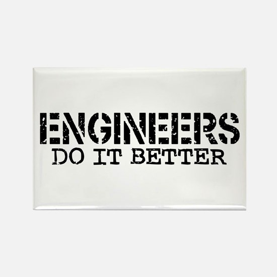 Engineers Do It Better Rectangle Magnet