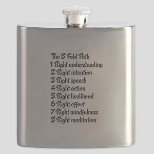 Buddhist 8 fold path Flask