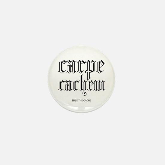 Carpe Cachem Mini Button