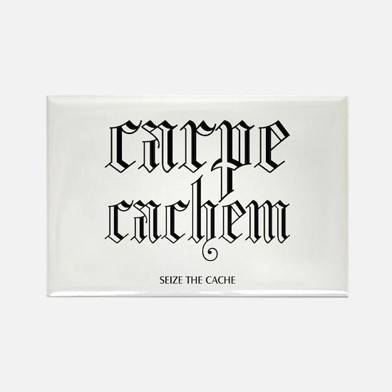 Carpe Cachem Rectangle Magnet
