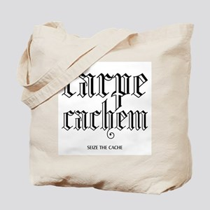 Carpe Cachem Tote Bag
