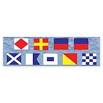 Sailing Freemasons Bumper Sticker (10 pk)