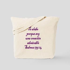 Salmos 139:14 Tote Bag