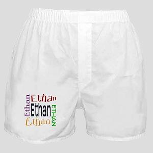 Ethan's Color Block Boxer Shorts