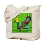 Battery Acid Shampoo Tote Bag