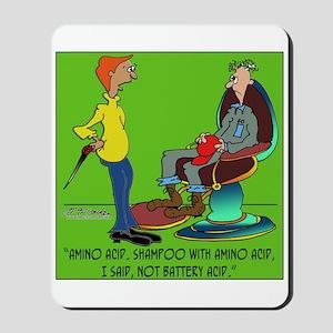 Battery Acid Shampoo Mousepad