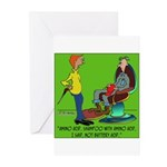 Battery Acid Shampoo Greeting Cards (Pk of 20)