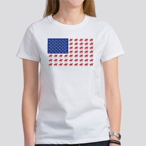 Original Patriotic Horse Flag Women's T-Shirt