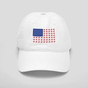 Original Patriotic Horse Flag Cap