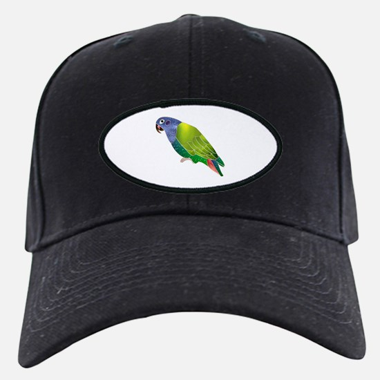 Stained Glass Pionus Parrot Baseball Hat