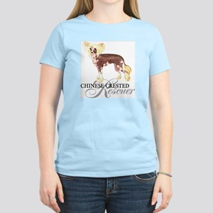 Chinese Crested Rescue Women's Light T-Shirt