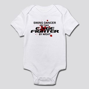 Swing Dancer Cage Fighter by Night Infant Bodysuit