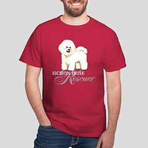 Bichon Frise Rescuer Dark T-Shirt