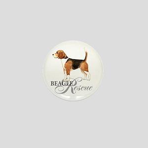 Beagle Rescue Mini Button