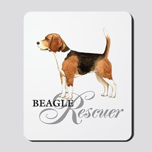Beagle Rescue Mousepad