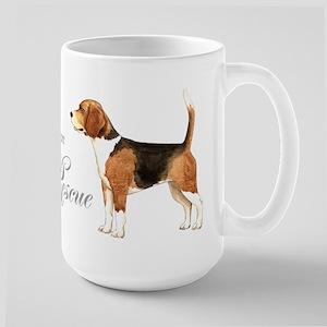 Beagle Rescue Large Mug