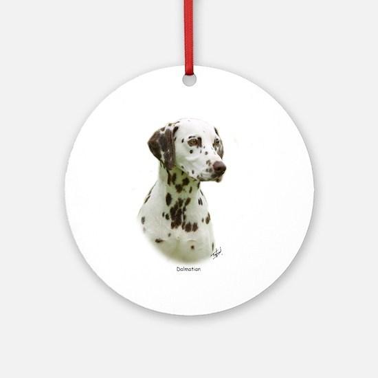 Dalmatian 9J022D-19 Ornament (Round)