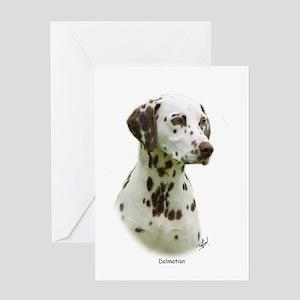 Dalmatian 9J022D-19 Greeting Card