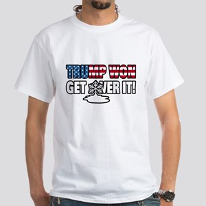 Trump Won Get Over It! Snowflake T-Shirt