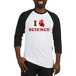 i love science Baseball Jersey