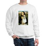 Mona & her Borzoi Sweatshirt