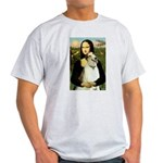 Mona & her Borzoi Light T-Shirt