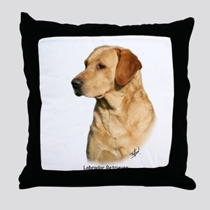 Labrador Retriever 9Y297D-038a Throw Pillow