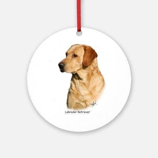 Labrador Retriever 9Y297D-038a Ornament (Round)