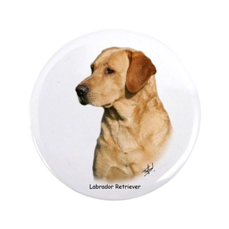 "Labrador Retriever 9Y297D-038a 3.5"" Button"